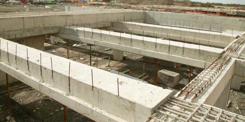 Concrete Column Design : Columns and beams precast