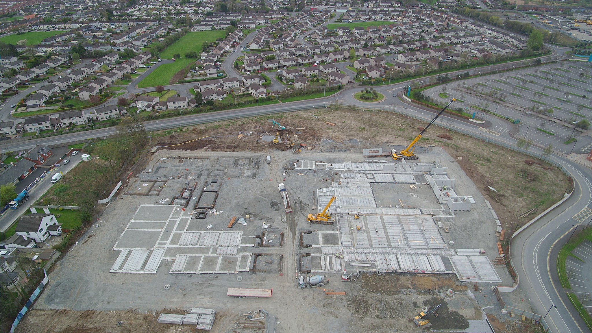 New College Precast Build Dundalk 4