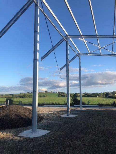 Prestressed Wall Panels For This Cattle Shed