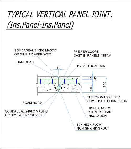 Precast Wall Connections, Precast Walls, Precast Frames