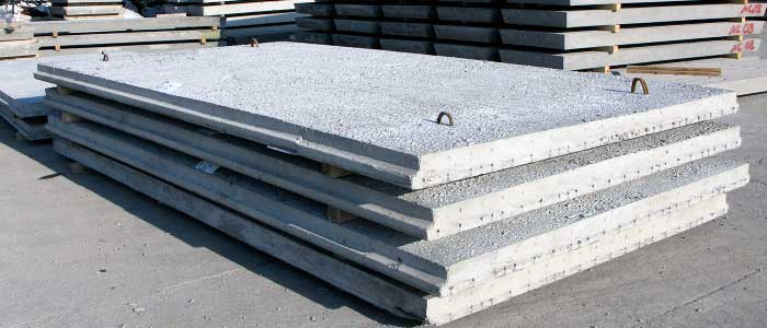 Wideslab Flooring - Precast - Pre-stressed solid floor slabs
